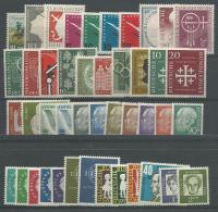 ALLEMAGNE (RFA):*, N°47 à 234 + N°746/9(réf: Yvert Et Tellier), Petit Lot De 48 Tp, Des Séries, Cote +175€, TB - [7] République Fédérale