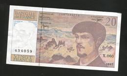 FRANCE - BANQUE De FRANCE - 20 Francs DEBUSSY (1997) - 20 F 1980-1997 ''Debussy''