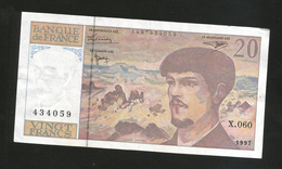 FRANCE - BANQUE De FRANCE - 20 Francs DEBUSSY (1997) - 1962-1997 ''Francs''