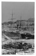 """¤¤  -  Cliché Collé Sur Carton Du Bateau """" VILLE De BREST """" En 1870  - Retirage  -  ¤¤ - Dampfer"""
