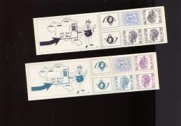 Belgie 1975 B12/B13 Carnet 12 & 13 Boudewijn Elstrom MNH - Booklets 1953-....