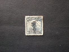 中国 CINA CHINE CHINA EMPIRE,Provinces Sinkiang 1916 China Empire Postage Stamps Overprinted Perfin !!! - Sinkiang 1915-49