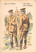 Dans Les Flandres Lord French Lord Kitchener - Personnages