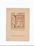 EX LIBRIS (VA PETIT LIBELLE . SUYS TON DESTIN FAIS LE SOIR JOYEULX ET GAY LE MATIN) MEMBRE LE GUILDE DU LIVRE - Bookplates