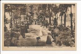 Carte De TOURS  Boulevard Béranger  Le Marché Aux Fleurs   ( Recto Verso ) - Tours