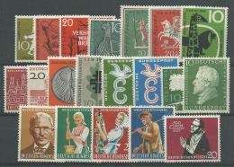 ALLEMAGNE (RFA): *, N°153 à 172(réf: Yvert Et Tellier), Année 1958, TB - [7] Federal Republic