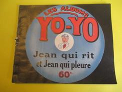 Livret Illustré/Les Albums YO-YO/Jean Qui Rit Et Jean Qui Pleure/La Platinogravure/MONTROUGE/Vers 1930   BD107 - Livres, BD, Revues