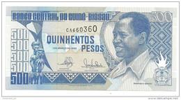 Guinea Bissau 500 Pesos 1990 UNC  .S. - Guinea–Bissau