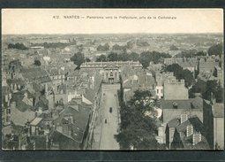 CPA - NANTES - Panorama Vers La Préfecture Pris De La Cathédrale - Nantes