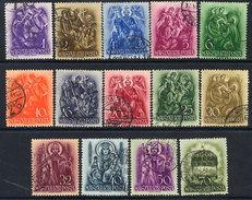 HUNGARY 1938 St, Stephen 900th Anniversary Set Used.  Michel 551-64 - Hungary