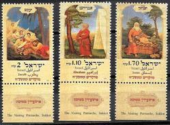 Israele/Israel/Israël: Abramo, Isacco, Giacobbe, Abraham, Isaac, Jacob - Judaísmo
