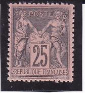 """Sage"" Type II N° 97 Neuf *- Voir Verso & Description - 1876-1898 Sage (Type II)"