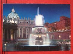 Roma / Citta Del Vaticano (RM) - Piazza S. Pietro Di Notte - Vatikanstadt