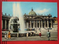 Roma / Citta Del Vaticano (RM) - Piazza E Basilica Di S. Pietro / Autobus - Vatikanstadt