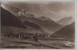 Liddes, Le Velan Et Les Maisons Blanches - Photo: Perrochet-Matile - VS Valais