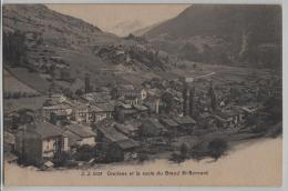 Orsieres Et La Route Du Grand St. Bernard - Photo: Jullien Freres No. 2628 - VS Valais