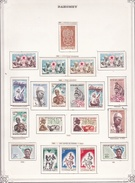Dahomey - Collection Vendue Page Par Page - Timbres Oblitérés / Neufs **/* - TB - Timbres