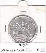 BELGIO   50 FRANCS 1958  COME DA FOTO - 1951-1993: Baudouin I