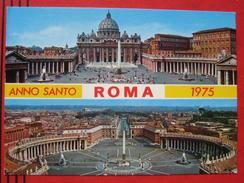 "Roma / Citta Del Vaticano (RM) - Zweibildkarte ""Anno Santo Roma 1975"" - Vatikanstadt"