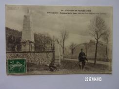Monument De La Cluse - Douanier - 1913 - Pontarlier