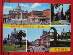 "Roma / Citta Del Vaticano (RM) - Mehrbildkarte ""Anno Santo 1975 Roma"" - Vatikanstadt"