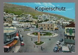 ÄLTERE POSTKARTE NABLUS COMMERCIAL STREET KINGDOM OF JORDAN Palästina Palestine Cpa AK Ansichtskarte Postcard - Palestina