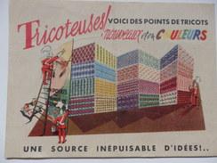 """Publicité Pour La Brochure """"24 Points De Tricot En Couleurs """" Les 3 Suisses- ROUBAIX - Altri"""