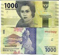 Indonesia - 1000 Rupees 2016 - 17 UNC - Indonesia