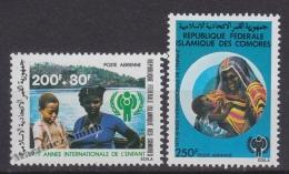 Comores - Comoros 1978 Yvert A 164-65, International Year Of The Child - Air Mail - MNH - Komoren (1975-...)