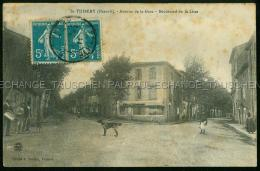 Saint Thibery Chien Avenue De La Gare Boulevard De La Lisse - Other Municipalities