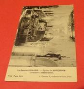 CARTE POSTALE GUERRE DE 14 :  BOUCHOIR L'EGLISE INTERIEUR, ETAT VOIR PHOTO  . POUR TOUT RENSEIGNEMENT ME CONTACTER. REGA - War 1914-18