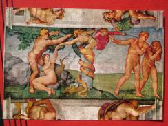 Roma / Citta Del Vaticano (RM) - Cappella Sistina: Michelangelo - Adamo Ed Eva Cacciata Del Paradiso - Vatikanstadt