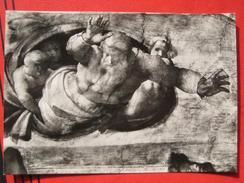 Roma / Citta Del Vaticano (RM) - Cappella Sistina: Michelangelo - Dio Separa La Terra Dalle Acque - Vatikanstadt