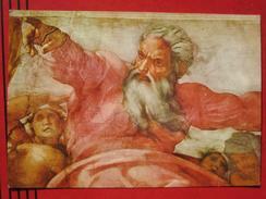 Roma / Citta Del Vaticano (RM) - Cappella Sistina: Michelangelo - Creatione Del Sole E Della Luna - Vatikanstadt