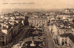 LIVORNO - Panorama E Piazza Vittorio Emanuele - Formato Piccolo - Livorno