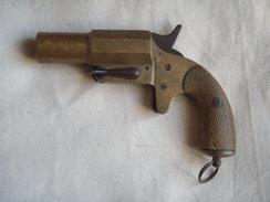 """Pistolet Lance-fusée Français """"Chobert""""  !!!! - Armes Neutralisées"""