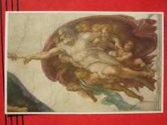 Roma / Citta Del Vaticano (RM) - Cappella Sistina: Michelangelo - La Creazione Dell'Uomo - Vatikanstadt