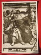 Roma / Citta Del Vaticano (RM) - Cappella Sistina: Michelangelo - Der Prophet Ezechiel - Vatikanstadt