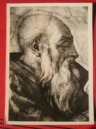 Roma / Citta Del Vaticano (RM) - Cappella Sistina: Michelangelo - Prophet Zacharias - Vatikanstadt