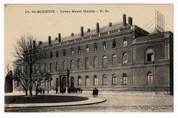 Saint Quentin. Lycée Henri Martin. (1360) - Saint Quentin