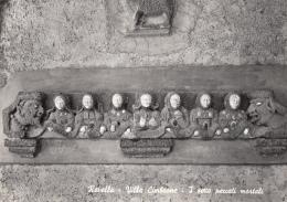 Italie - Ravello - Villa Cimbrone - Sculpture Les 7 Péchés Mortels - Salerno