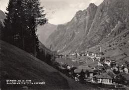 Italie - Carona - Panorama Visto Da Levante - 1959 - Bergamo