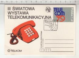 UIT - III  Åšwiatowa Wystawa Telekomunikacja - Telecom 79 - Manifestations