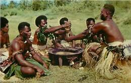 186173-Fiji, Nadi, Yanqona Ceremony, Stinson No 1014 By Curteichcolor No 5C-K1306 - Fiji