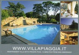VILLA PIAGGIA - Montaione - Firenze - Italia