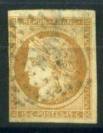 COLONIES (  POSTE ) : Y&T  N°  22  TIMBRE  BIEN  OBLITERE , CLAIR  DE  CHARNIERE, A  VOIR . - Cérès
