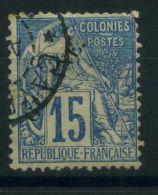 COLONIES GENERALES ( POSTE ) : Y&T  N°  51  TIMBRE  BIEN  OBLITERE , A  VOIR . - Alphée Dubois