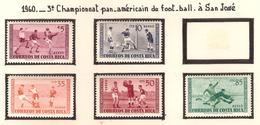 Costa Rica 1960, 3 ème Championnat Pam-Américain De Football à San José ( Thématique Sport ) - Costa Rica