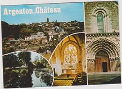 Deux Sèvres : ARGENTON - CHATEAU  : Vues - Argenton Chateau