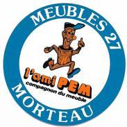 Meubles 27 Morteau  / Sticker écusson Adhésif Autocollant - Autocollants